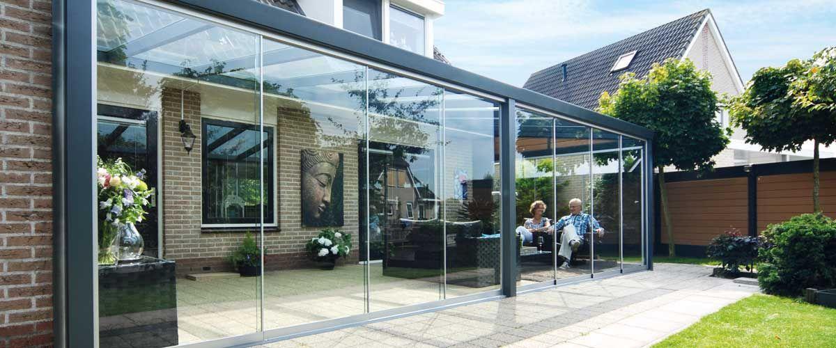 Glazen tuinkamer