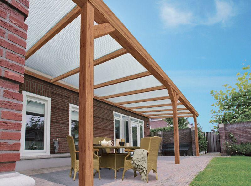 Aluminium houtlook veranda