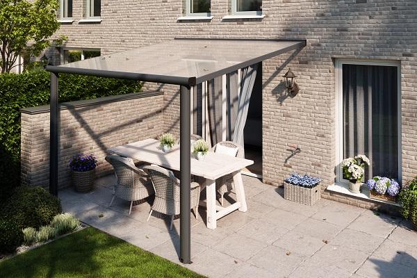 DHZ-veranda Comfortline 304x250 cm - Antraciet structuur