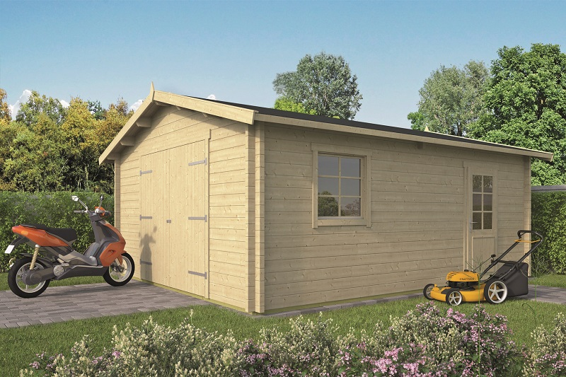 Garage Rydell 470x570 cm