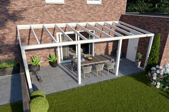Greenline XXL veranda 1200x330 cm - glasdak