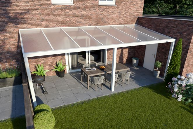 Greenline XXL veranda 900x250 cm - polycarbonaat dak