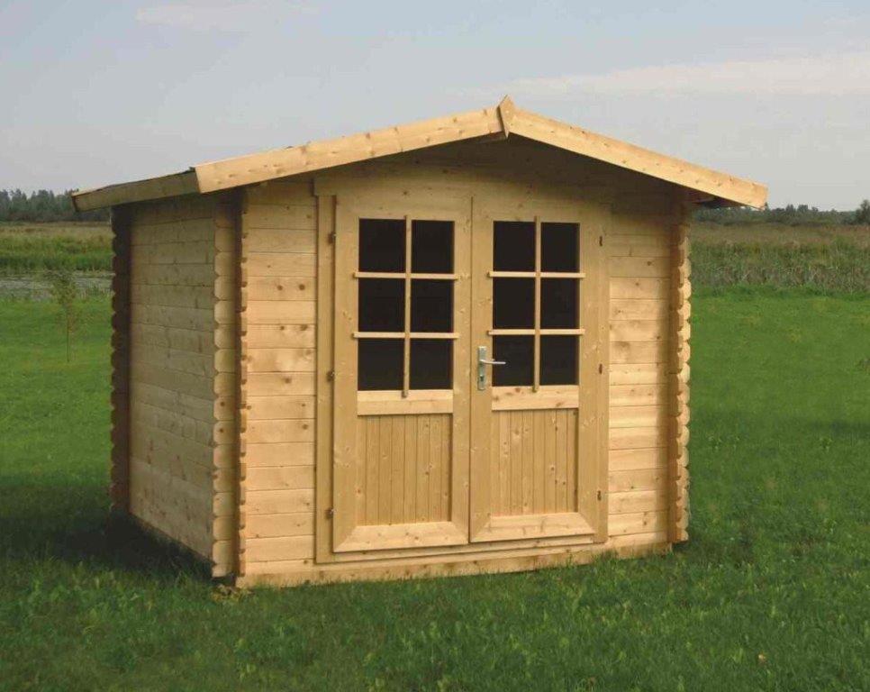 Blokhut Britt 300x250 cm, incl. dakleer & thuisbezorgd