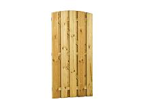 Plankendeur grenen 90x179 cm - recht verticaal