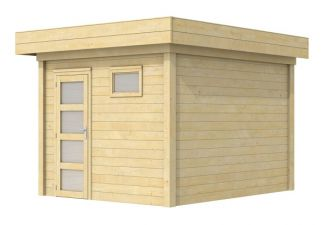 Moderne Blokhut Tapuit 300x300 cm