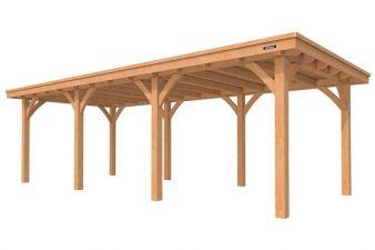 Buitenverblijf Excellent plat dak