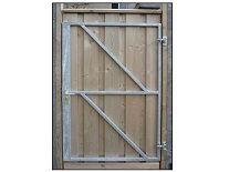 IJzeren deurframe met slotkast H155xB100 cm