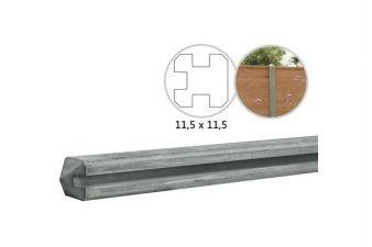 Betowood Beton T-paal Grijs 11.5x11.5x278 cm