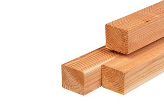 Red Class Wood regel 4.5x4.5x300 cm