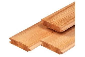 Red Class Wood blokhutprofiel