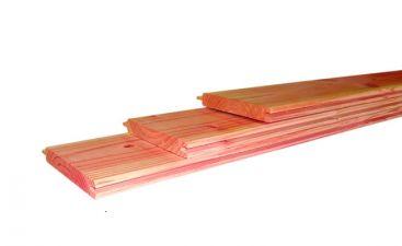Woodvision Geschaafd dakbeschot Douglas 1,6x11,6x400 cm - groen geïmpregneerd