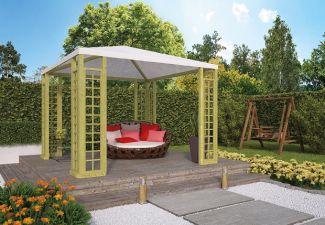 Paviljoen met zeildoek 300x300 cm