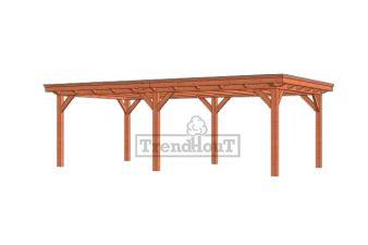 Buitenverblijf Florence 780x425 cm - Plat dak