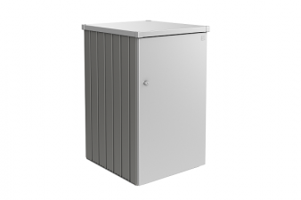 Biohort metalen containerberging kwartgrijs metallic en zilver metallic - variant 2.1