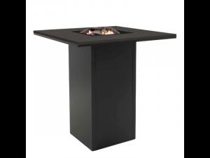 Cosiloft 100 Bar table zwart/zwart 100x100x110 cm