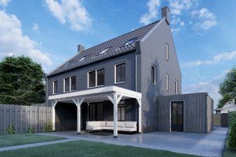 Aanbouwveranda Ancona 375x390 cm - plat dak