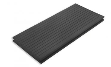 Composiet Solid vlonder pakket compleet Antraciet 2,1x14x280 cm - per m2