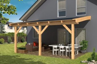 Do-It-Yourself veranda ongeschaafd Tuindeco