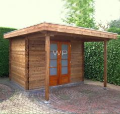 Blokhut/Tuinhuis Drenthe 300x350 cm