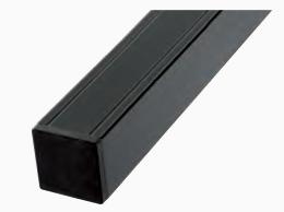 Aluminium paal 8,8x8,8x186 cm