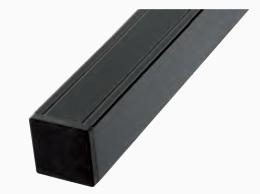 Aluminium paal 6,8x6,8x99 cm