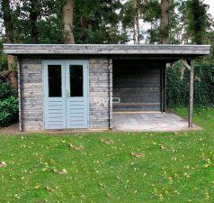 Blokhut/Tuinhuis Kampen 500x300 cm