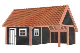 Kapschuur De Hofstee XXL 785x595 cm - Combinatie 1