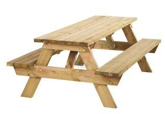 Picknicktafel kinderen 58x74x90 cm