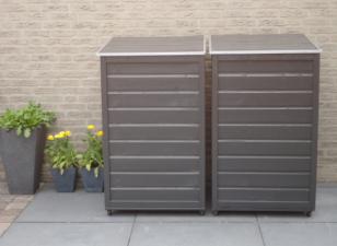 Containerberging in panelen
