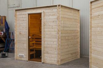 Binnensauna Interflex - 205x205 cm (Sauna)
