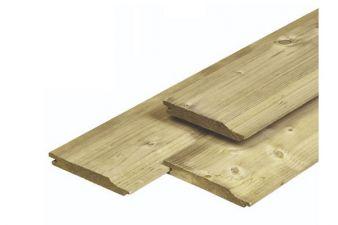Noord-Zweeds rabat overhangend 1,8x14,5x390 cm