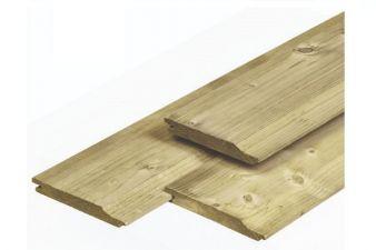 Noord-Zweeds rabat overhangend 1,8x14,5x510 cm