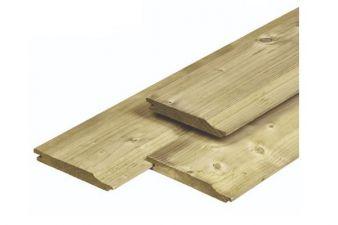 Noord-Zweeds rabat overhangend 1,8x14,5x420 cm