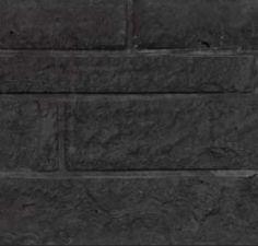 Betonnen onderplaat 2-zijdig rotsmotief antraciet 4.8x36x180cm