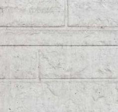Betonnen onderplaat 2-zijdig rotsmotief wit/grijs 4.8x36x180cm