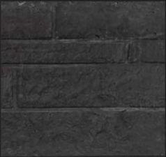 Onderplaten antraciet Rotsmotief 4.8x36x184cm