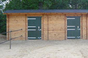 Paardenbox DUO 750x380 gecoat