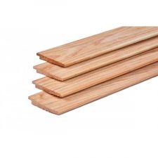 Lariks/Douglas potdekselplank onbehandeld 1-2x15x300 cm