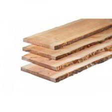 Lariks/Douglas schaaldelen onbehandeld 2,5x25-30x500 cm