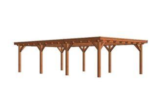 Overkapping Toscane 940x545 cm - Combinatie 1