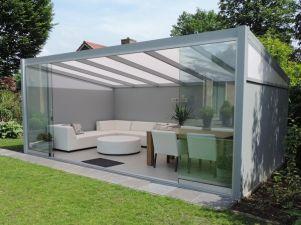 Profiline terrasoverkapping - vrijstaand - 500x250 cm - polycarbonaat dak