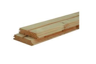Woodvision douglas hout groen geïmpregneerd