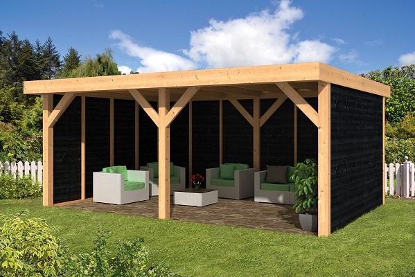 Doe-het-zelf (DHZ) plat dak Dalfsen B600xD300xH262 cm