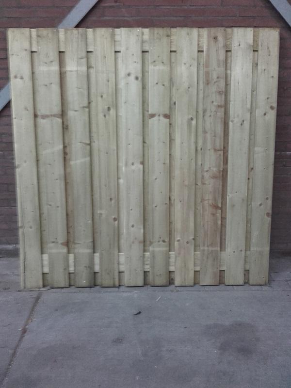 Tuinscherm 19 planken NR885