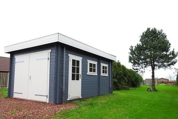 Interflex Garage 3352 330x520 cm - Gecoat plat dak