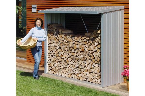 Metalen multi-opslagplaats Woodstock 229x102x199 cm