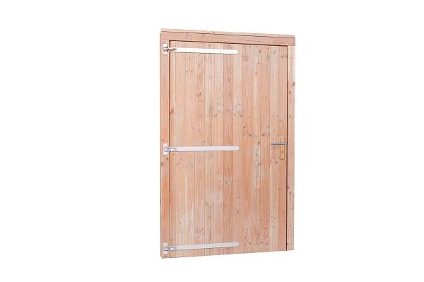 Douglas Enkele deur extra breed 118x208 cm - Bruin gespoten