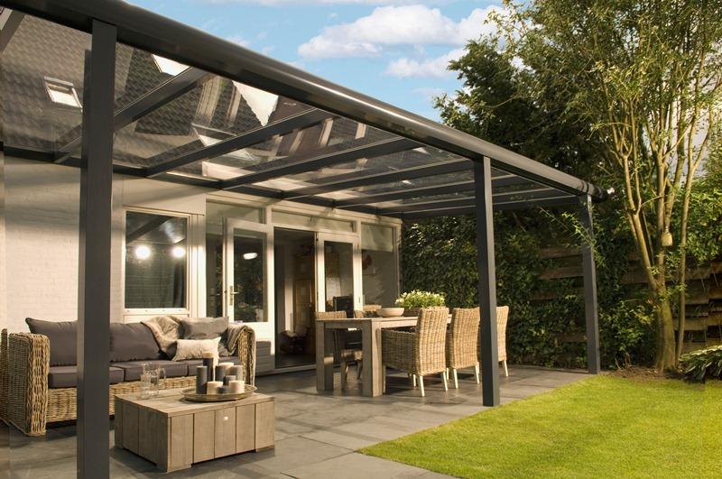 Profiline veranda 500x400 cm - glasdak