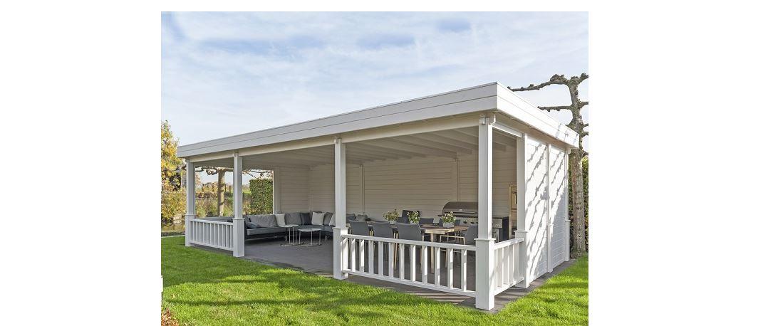 Vrijstaande Veranda Palma VB01 - 800x400 cm