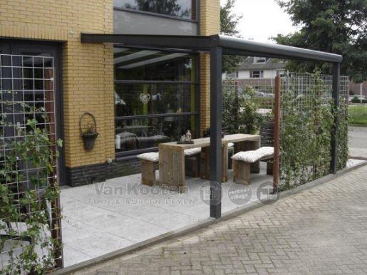 Profiline veranda 450x300 cm - zo goed als nieuw - polycarbonaat dak